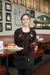 american waitress