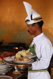 Indian waiter
