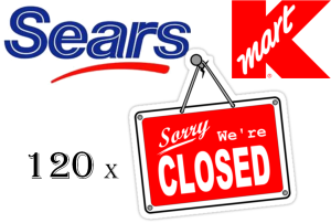 kmart and sears