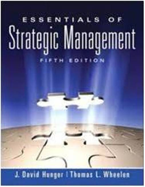 """Luxury Fifth Wheel >> BOOK REVIEW: """"Essentials of Strategic Management"""" by J"""