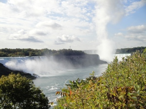 Visit the Niagara Falls while travelling in Canada