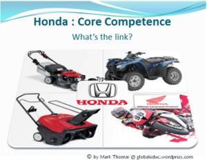 Honda´s core competence