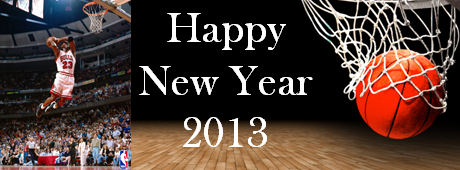 A sporting New Year 2013