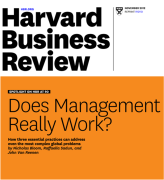 HBR does management really work