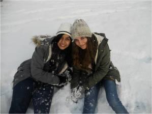 Grenoble snow