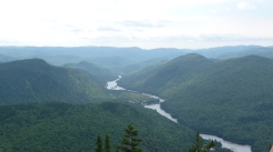 Jacques Cartier National Park - great for hiking and rafting