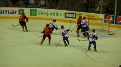 Les Remparts hockey game