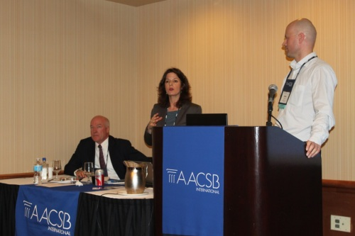 AACSB Annual Meeting (ICAM 2013): The European Affinity Group and the challenges of accreditation for European schools