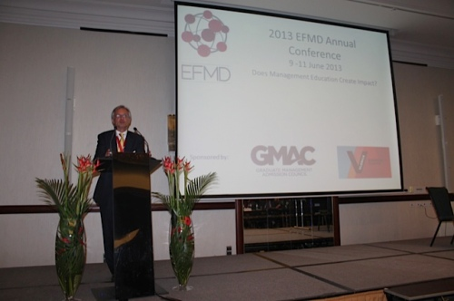 EFMD Annual Conference 2013: Closing Remarks by the Chair, Philippe Haspeslagh