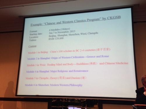 CKGSB program