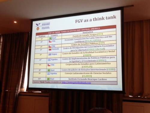 FGV think tank