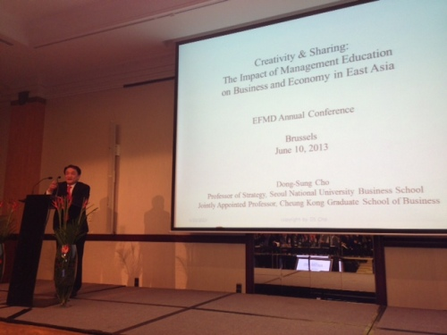 "EFMD Annual Conference 2013: ""Efficiency and Creativity: the Impact of Management Education upon Business and Economy in Asia"""