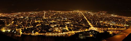 Grenoble night view