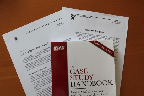 Harvard Business School and the Case Study Method