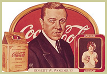Robert W. Woodruff, Coca Cola