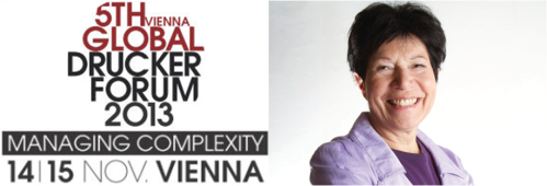 "Peter Drucker Forum 2013: ""The embarrassment of complexity"" by Helga Nowotny"