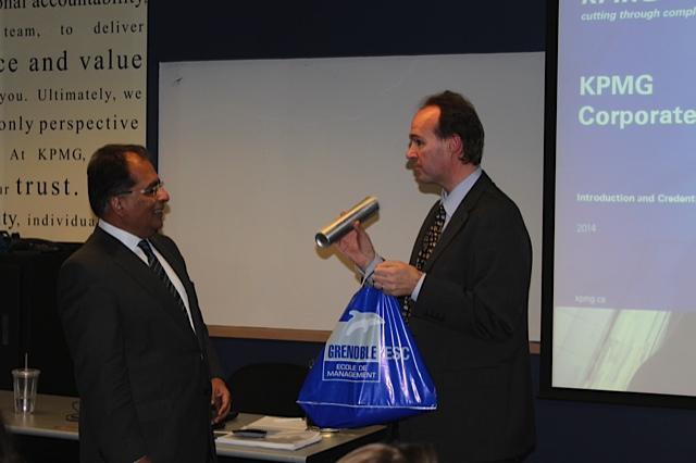 Al Kanji, Senior Partner, KPMG, Vancouver talks to GEM & SFU