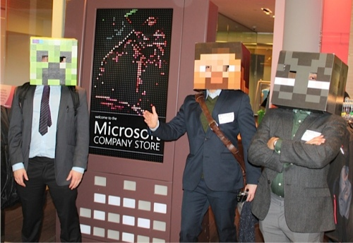 Fun at Microsoft Visitors Center