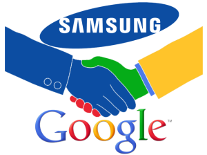 Samsung and Google alliances